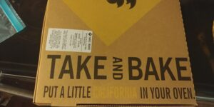 Take and Bake California Pizza Kitchen