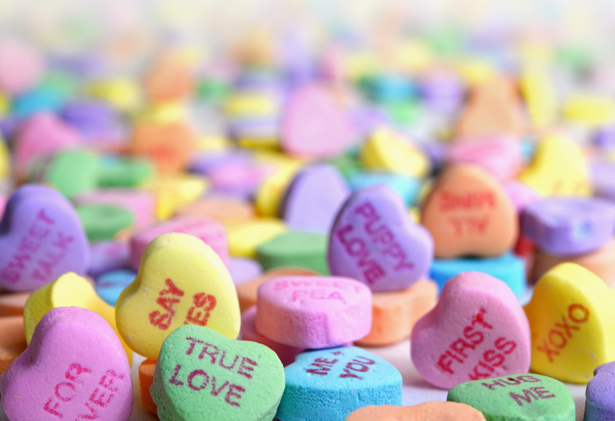 Necco candy heart