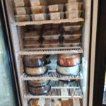 gluten free products in fridge