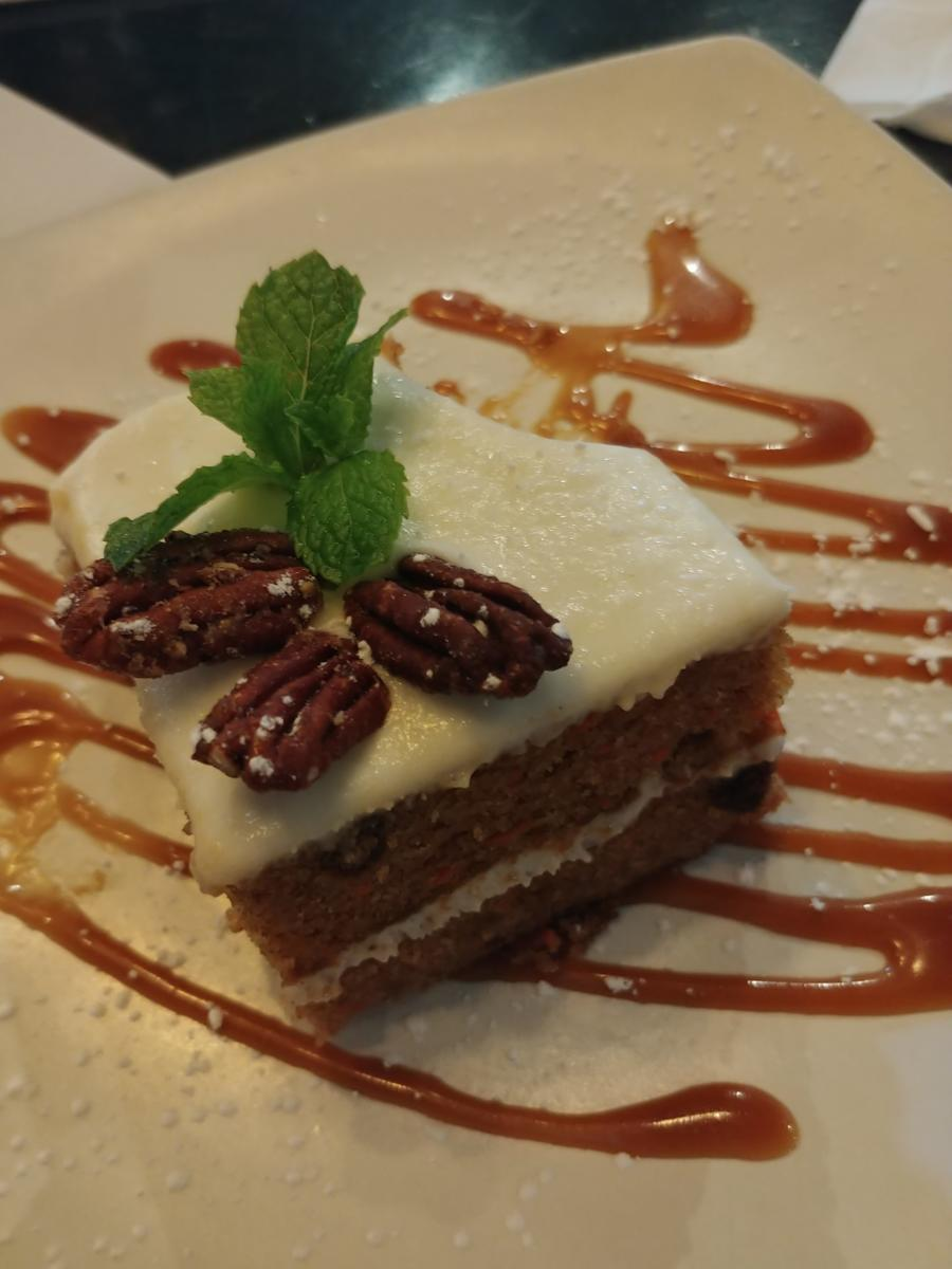 nyaj gfree carrot cake